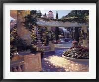 Framed Bellagio Garden