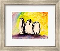 Framed Penguins