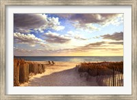 Framed Sunset Beach