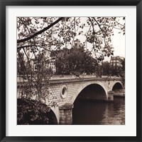 Framed Pont Louis-Philippe, Paris