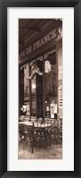 Cafe de France Framed Print