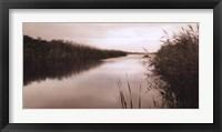 Framed River Reeds