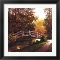 Framed Wooden Bridge II