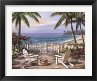 Framed Coastal View