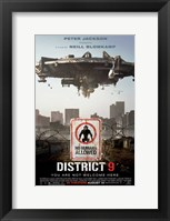 Framed District 9 - style E