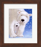 Framed Fluffy Bears I
