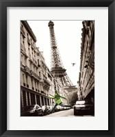 Framed Big Jump in Paris