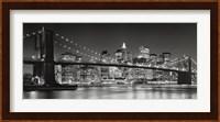 Framed Brooklyn Bridge, 2007
