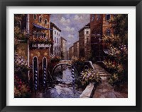 Framed Venice In Spring