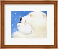 Framed Fluffy Bears III