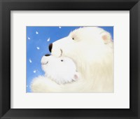 Framed Fluffy Bears III