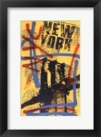Framed NYC (Yellow)