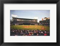Framed Oakland, McAfee Coliseum