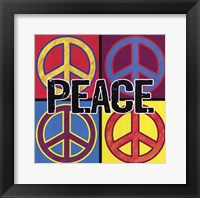 Framed Peace - Colorful