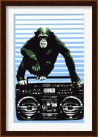 Framed Monkey Boom Box