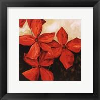 Red Passion I Framed Print