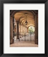 Framed Courtyard Colonnade