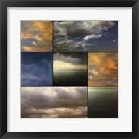 Framed Cloud Medley I