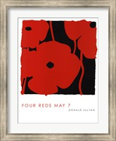 Framed Four Reds May 7
