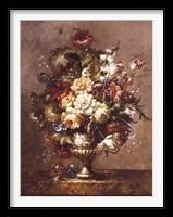 Framed Floral Decadence