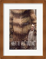 Framed Where the Wild Things Are - style A