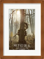 Framed Where the Wild Things Are - style B