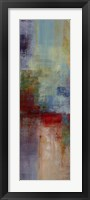 Framed Color Abstract I