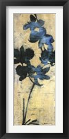 Framed Orchid Silhouette II