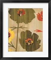 Garden of Delights I Framed Print