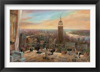 A New York View Framed Print