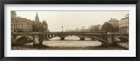 Framed Pont Notre Dame