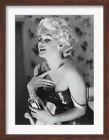 Framed Marilyn Monroe - Chanel No. 5