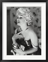 Framed Marilyn Monroe - Chanel No. 5