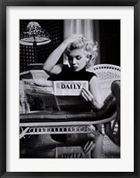 Framed Marilyn Monroe - Motion Picture Daily