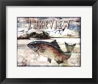 Lakeview Framed Print