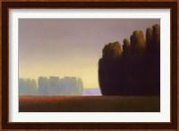 Framed Copper Meadows II