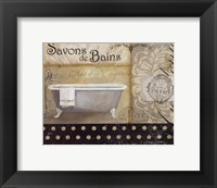 Savons de Bains II Framed Print