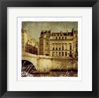Framed Golden Age of Paris III