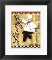Chef's Break  II Framed Print