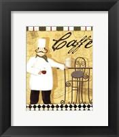 Framed Chef's Break III