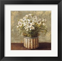 Hatbox Freesia Framed Print