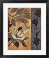 Romantic Magnolias II Framed Print