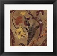 Floral Fragment IV Framed Print