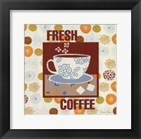 Coffee Time I Framed Print