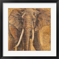 Framed Grand Elephant