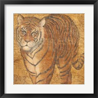 Framed Grand Tiger