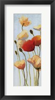 Just Being Poppies II Framed Print