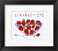 Framed Fruit Stand II