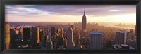 Framed Looking Out Over Manhattan