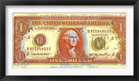 Framed Dollar Bill